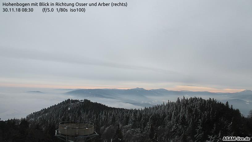 30.11.2018 | Bild des Tages | Guten Morgen Bayerischer Wald | Dream...
