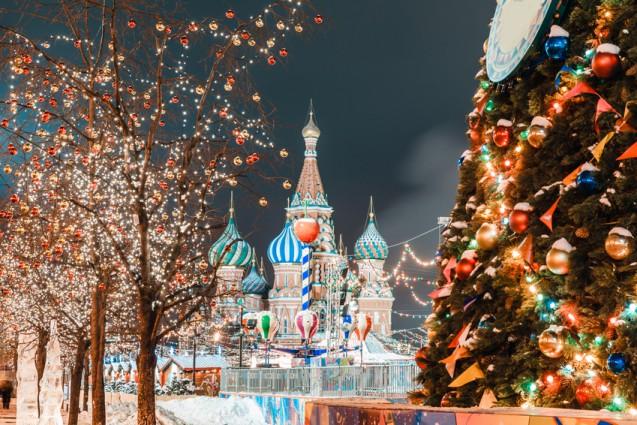 02.12.2018 | Bild des Tages | Weihnachtsmarkt in Moskau | Dream Boy...