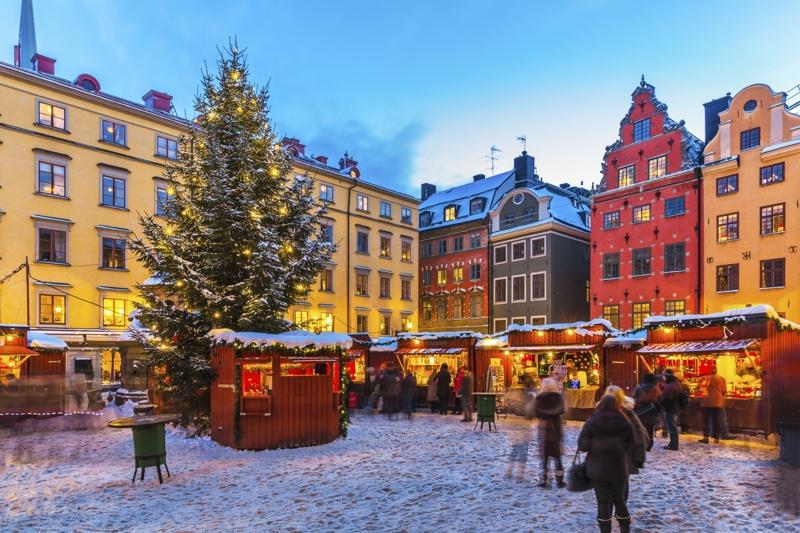 04.12.2018 | Bild des Tages | Weihnachtsmarkt in Stockholm | Dream ...
