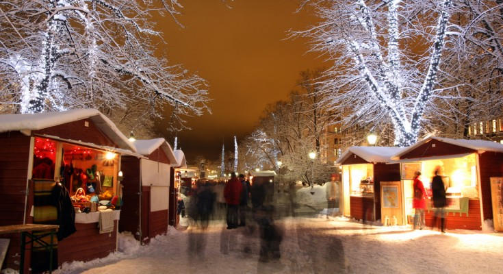 20.12.2018 | Bild des Tages | Weihnachtsmarkt in Helsinki | Dream B...