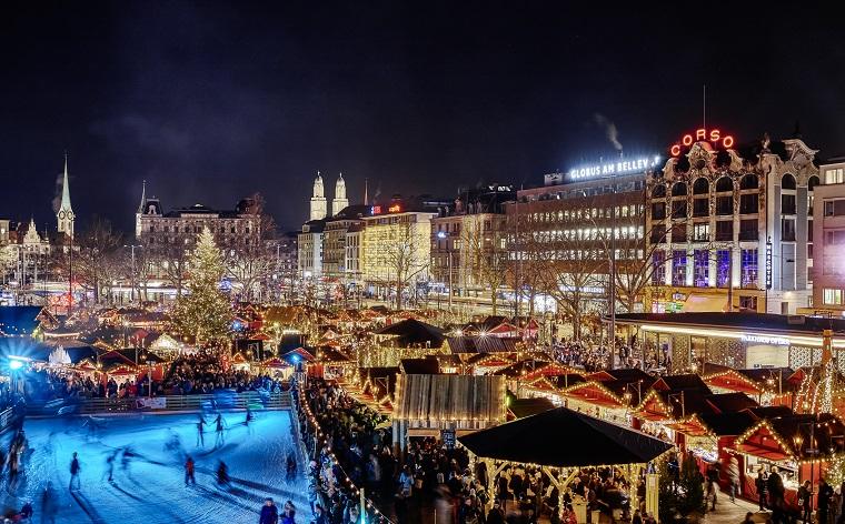 23.12.2018 | Bild des Tages | Weihnachtsmarkt in Zürich | Dream Boy...