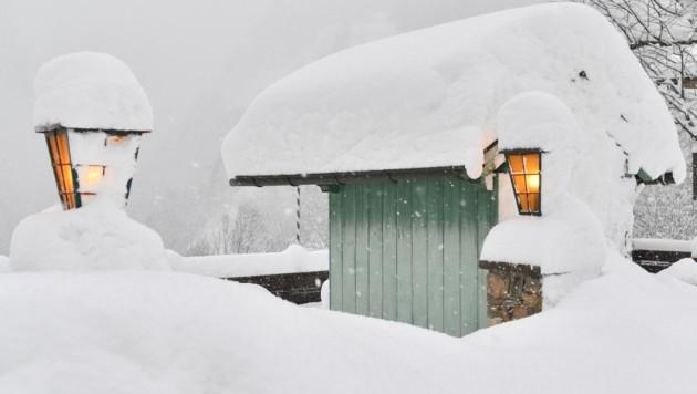07.01.2019 | Bild des Tages | Winterliche Verhältnisse am Pass Lueg...