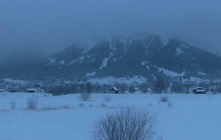 08.01.2019 | Bild des Tages | 8:33 Ehrwald/Zugspitze | Dream Boy Blog