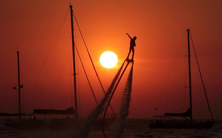 Wassersport auf der Krim