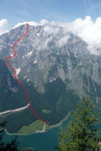 Bergsteigen: Watzmann Ostwand