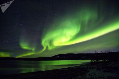Russische Polar auroras.