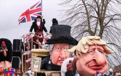 Karnevalszug in Aalst    © 2020   Yves Herman (Reuters)